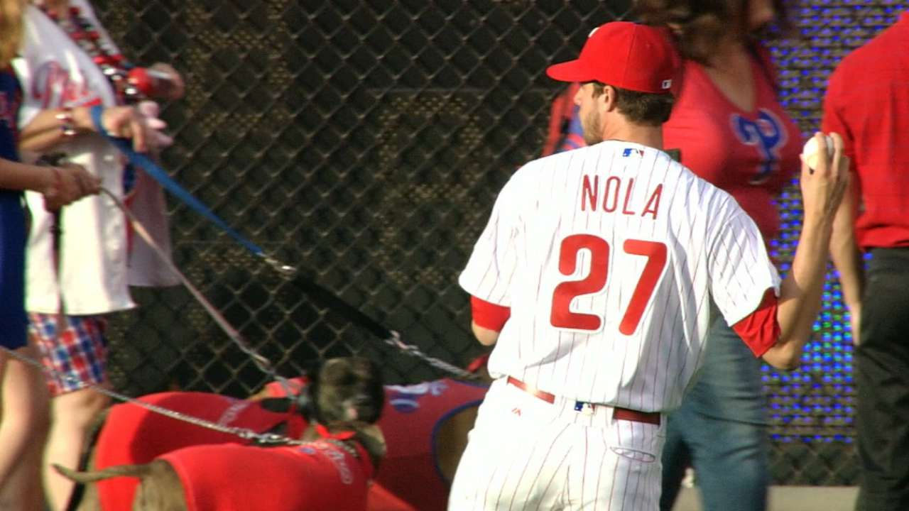 Nola's solid home start