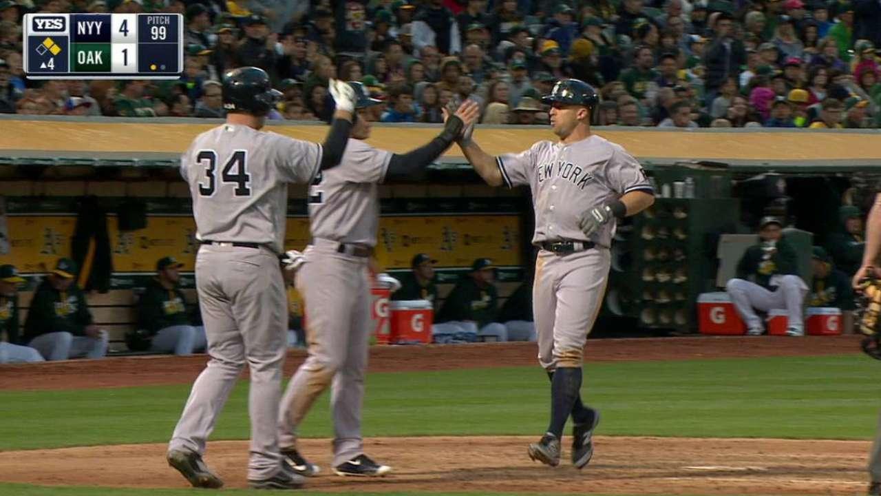 CC Sabathia hace historia en victoria de Yankees en Oakland