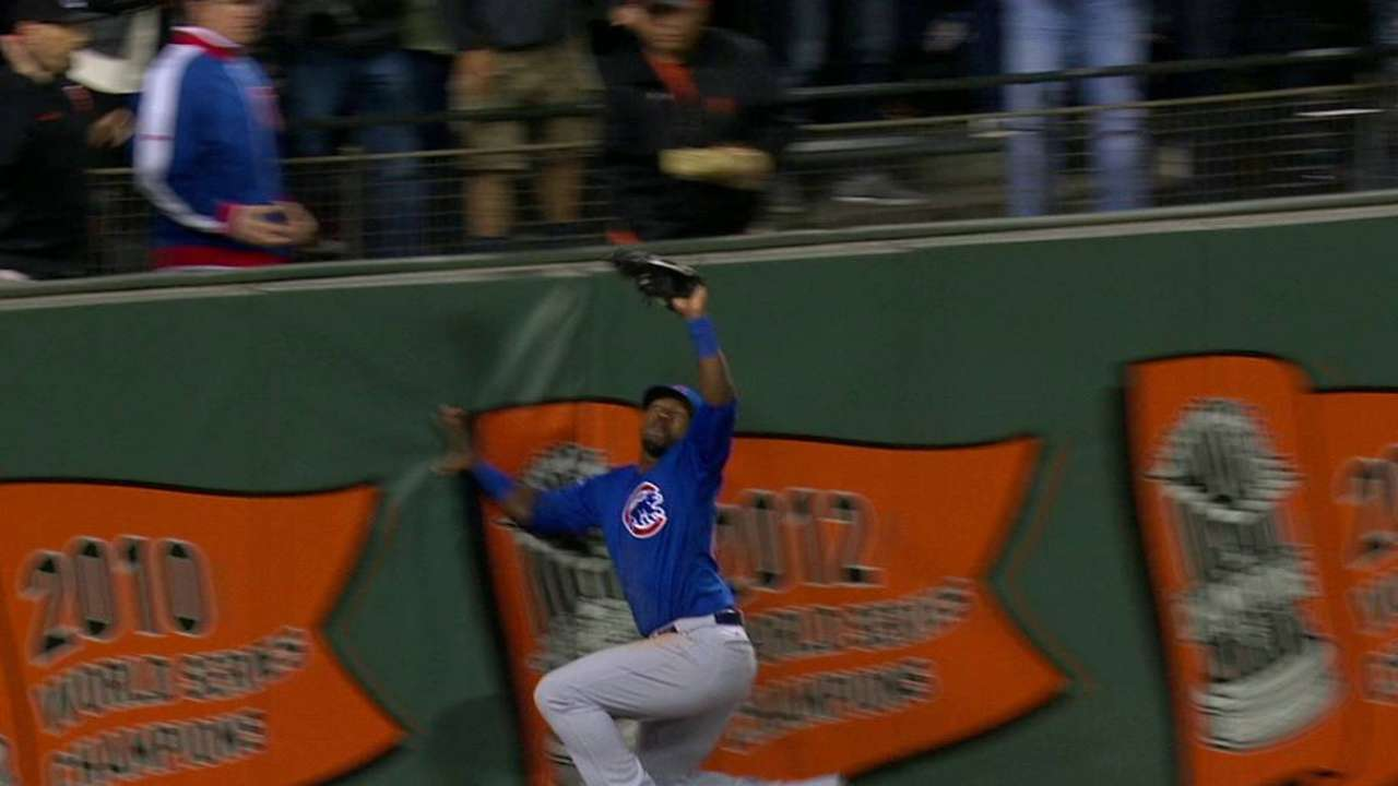 Soler's leaping catch