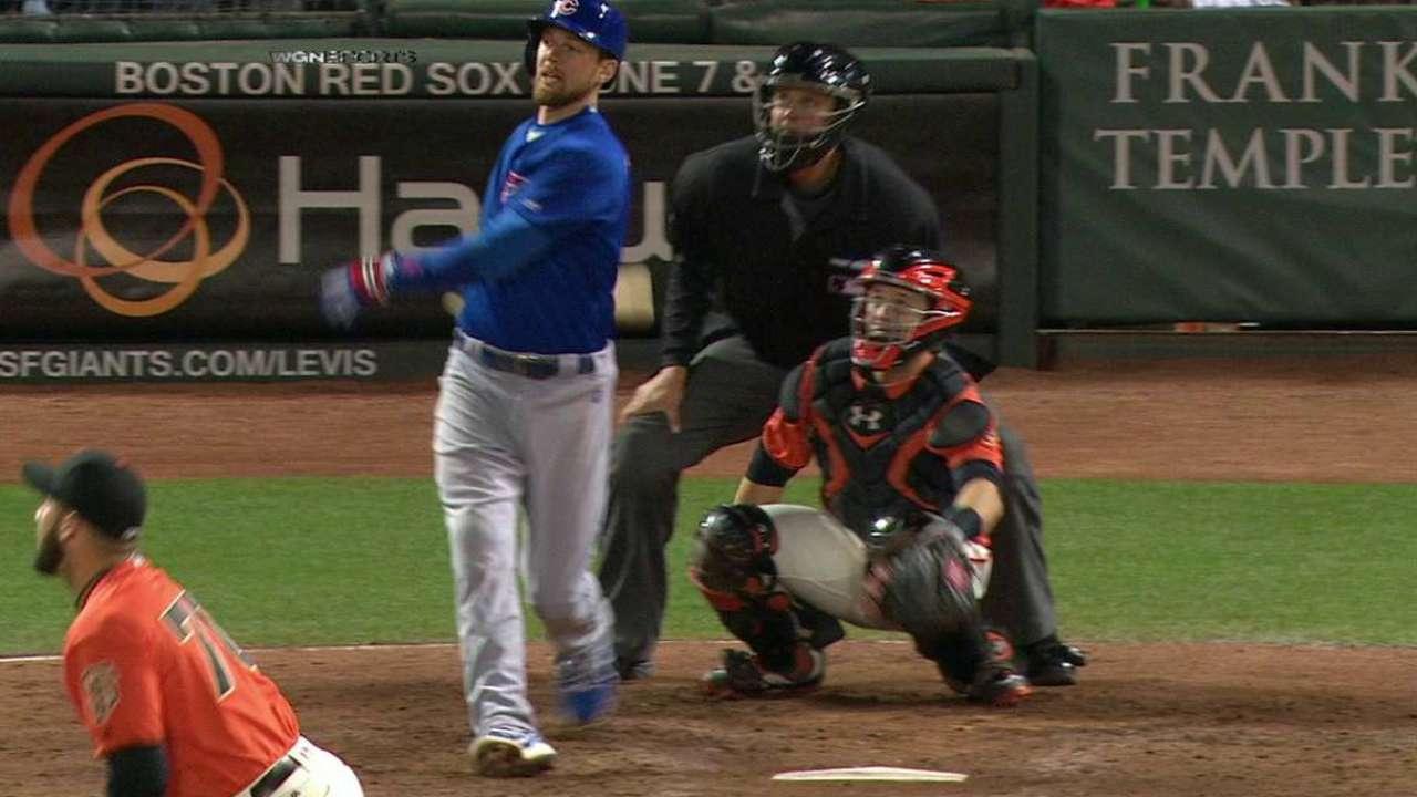 Zobrist's splash-hit homer