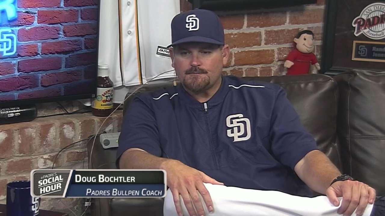 Padres Social Hour: Doug Bochtler