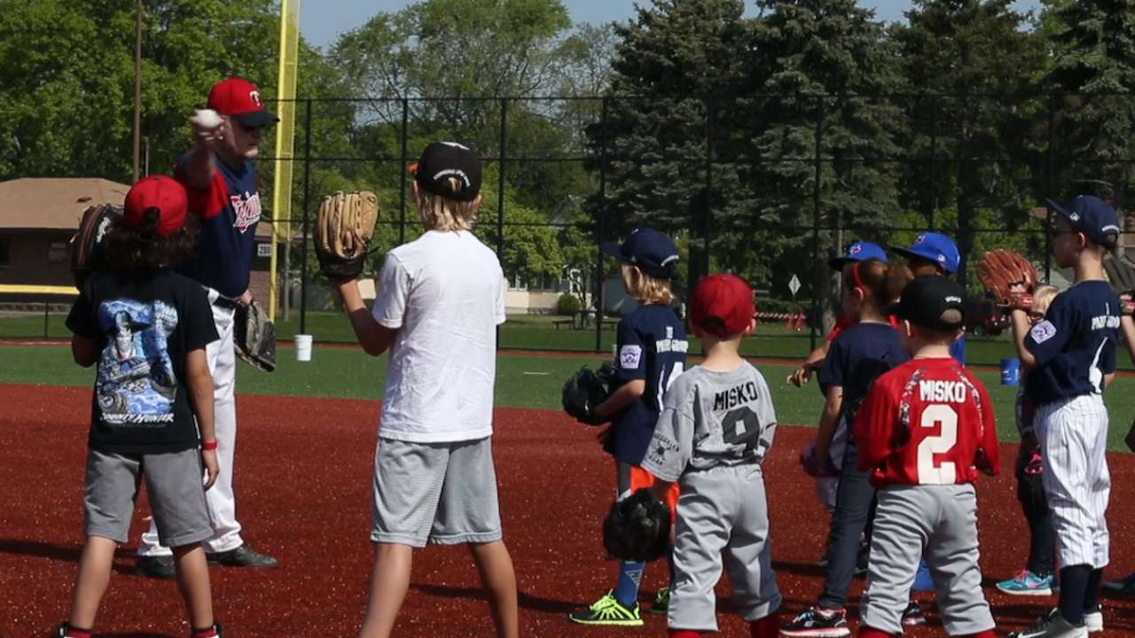 Local kids discover finer points of game at Play Ball clinic