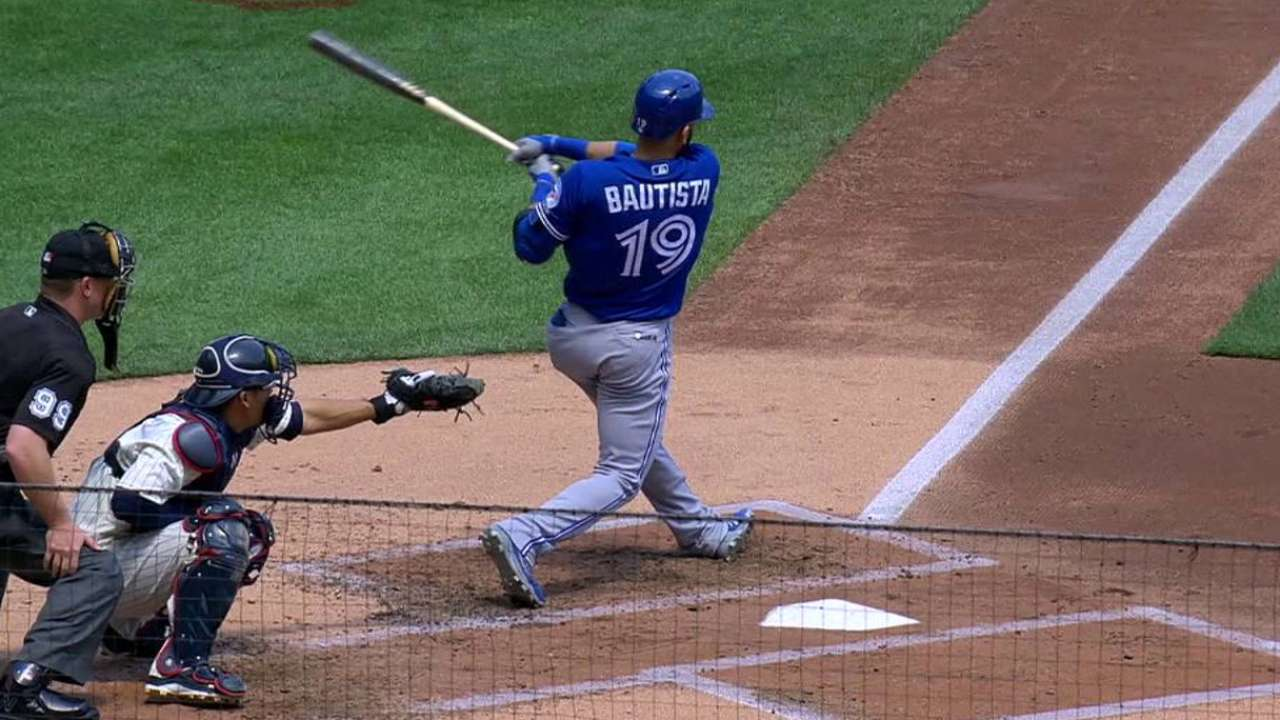 Bautista's two-run big fly