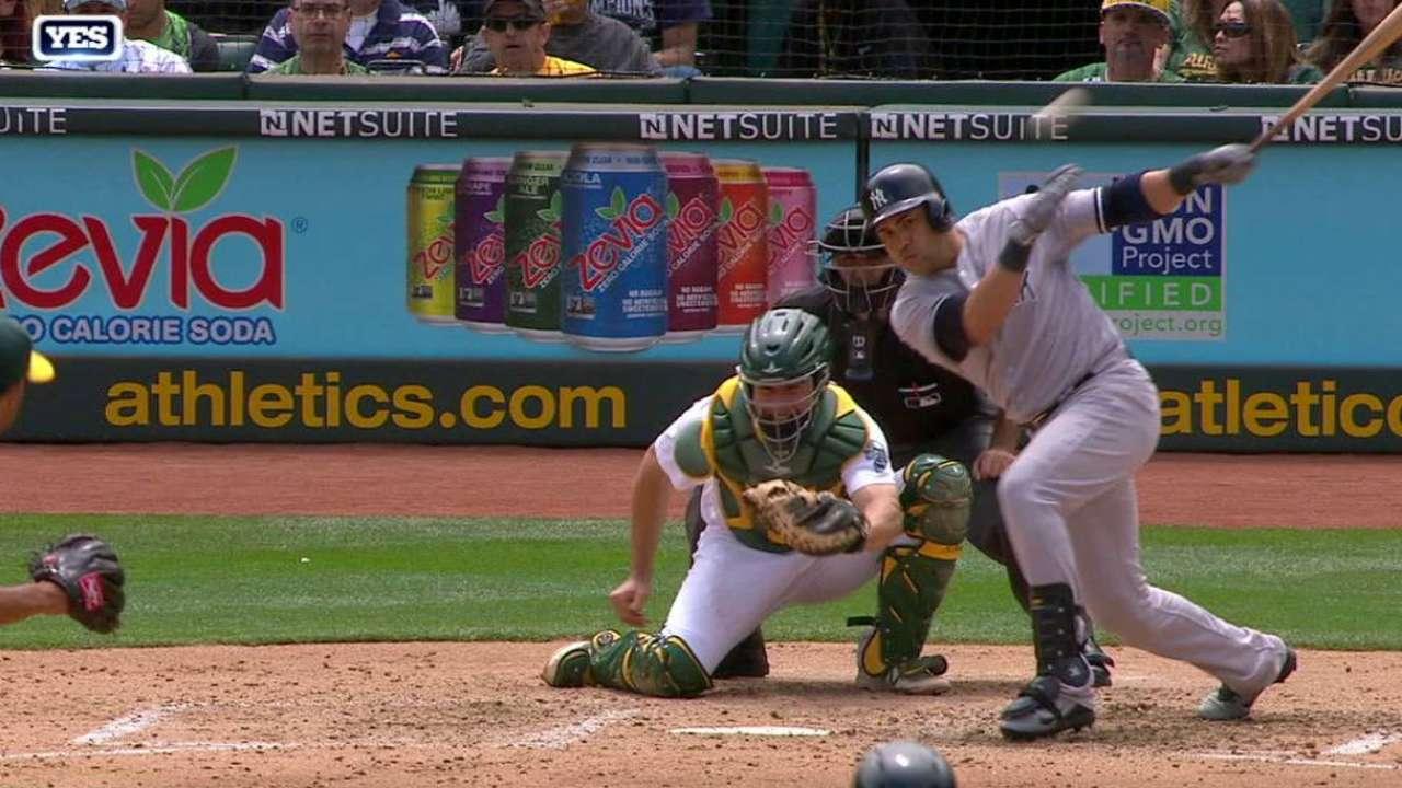 Castro y Beltrán lucen en victoria de Yankees sobre Atléticos