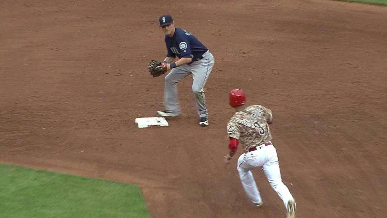 Cano's double play