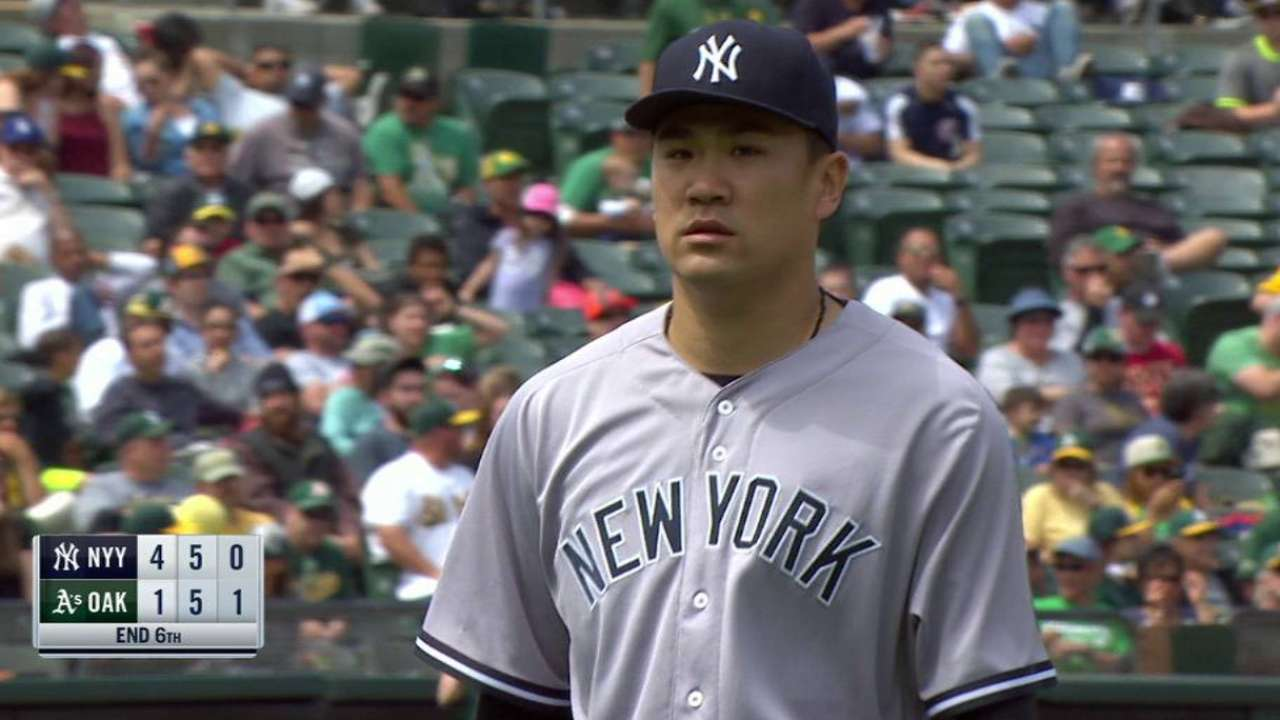Tanaka flashes the leather