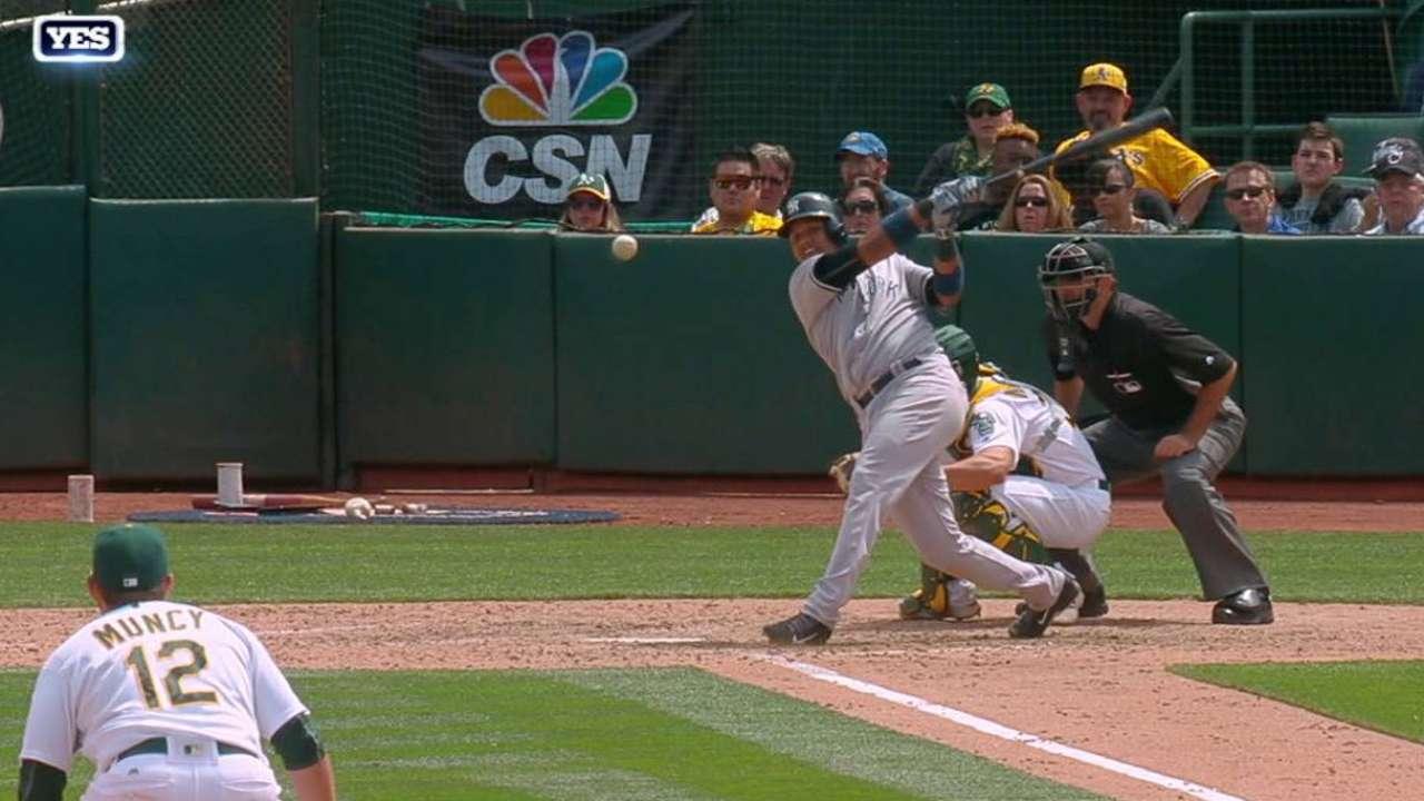 Tanaka, Castro trigger Yanks' 4th straight win