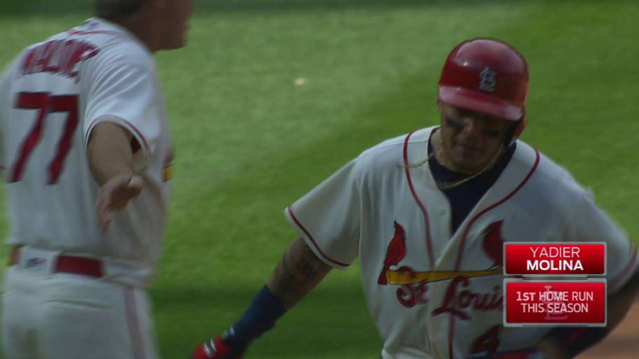 Molina's two-run blast