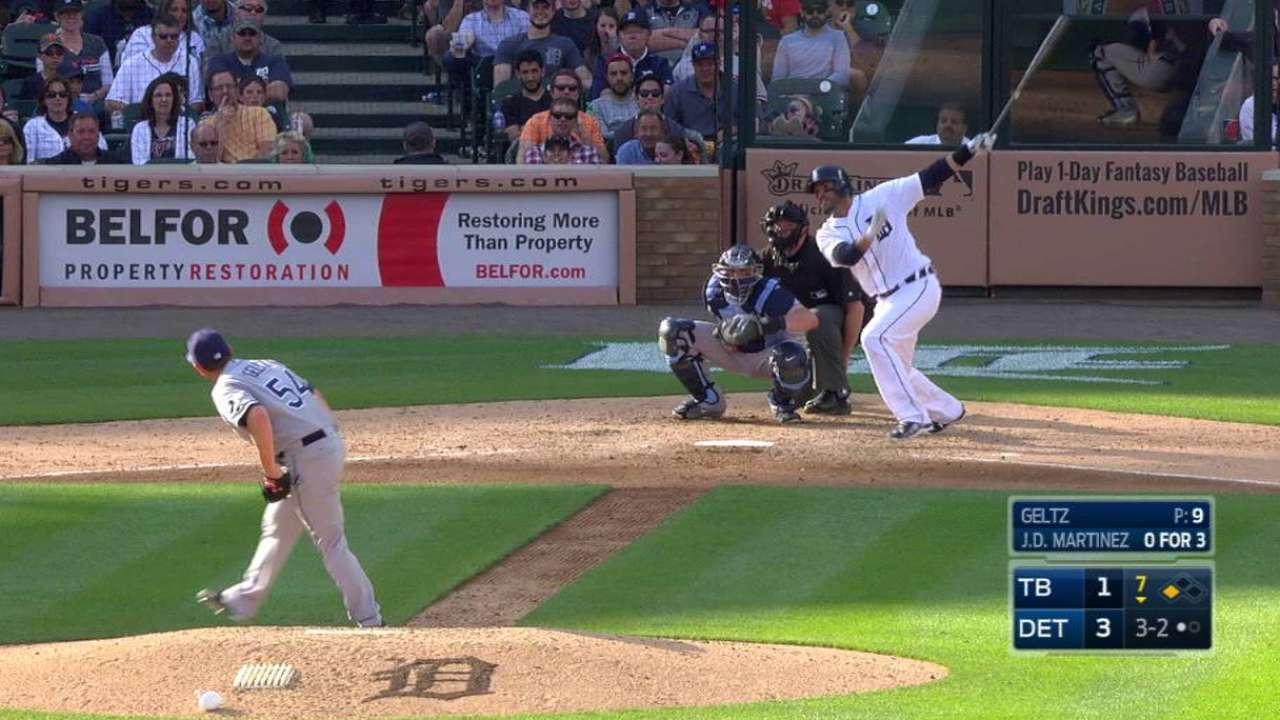 Martinez's two-run homer
