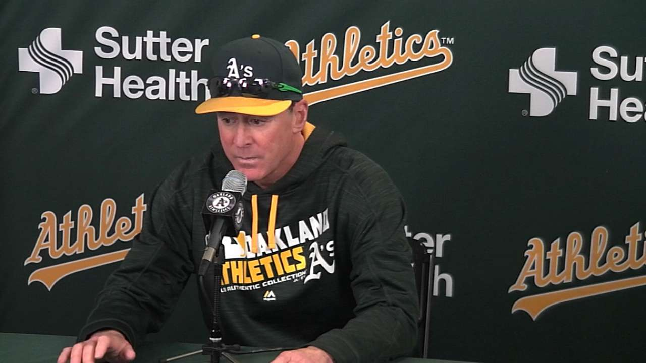 Melvin on 5-1 loss to Yankees