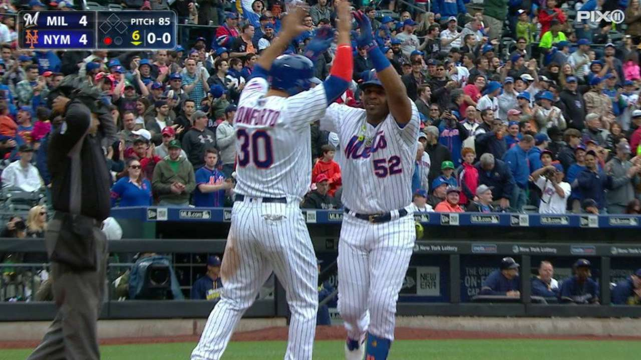 Cespedes' game-tying home run
