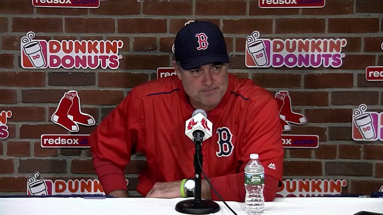 Farrell on 9-1 win over Indians
