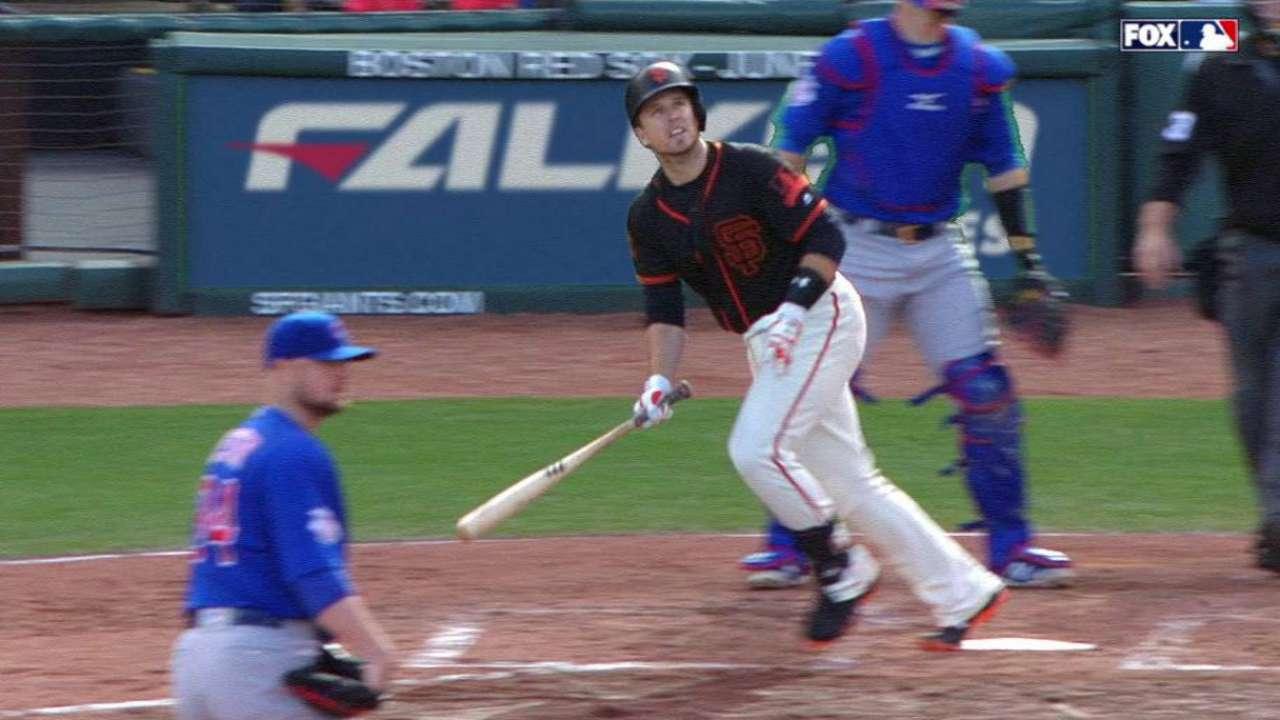 Posey's two-run home run