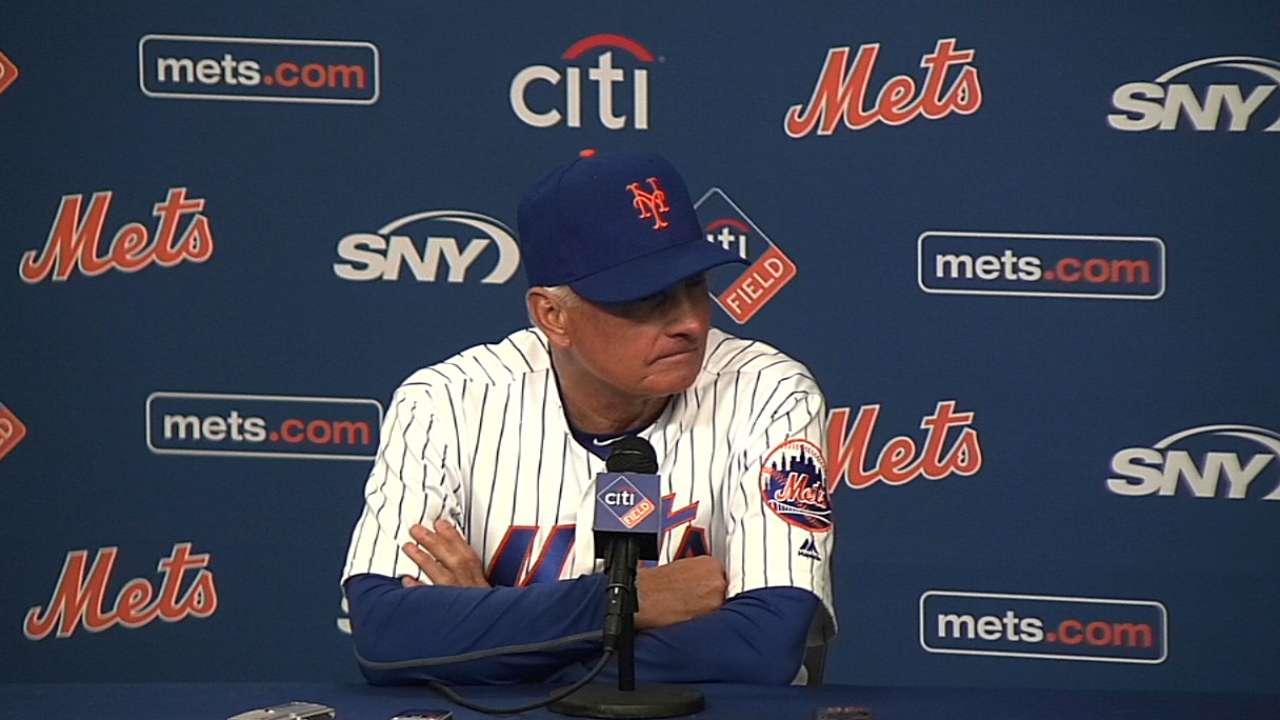 Collins on Mets' walk-off win