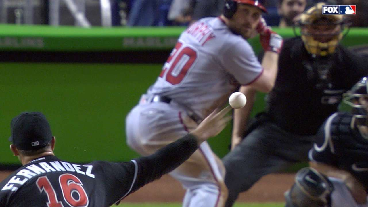 Fernandez pins down Nats for 5th straight win