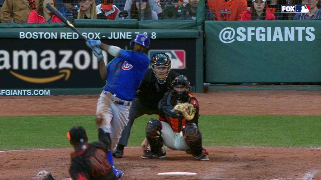 Fowler's solo shot to right