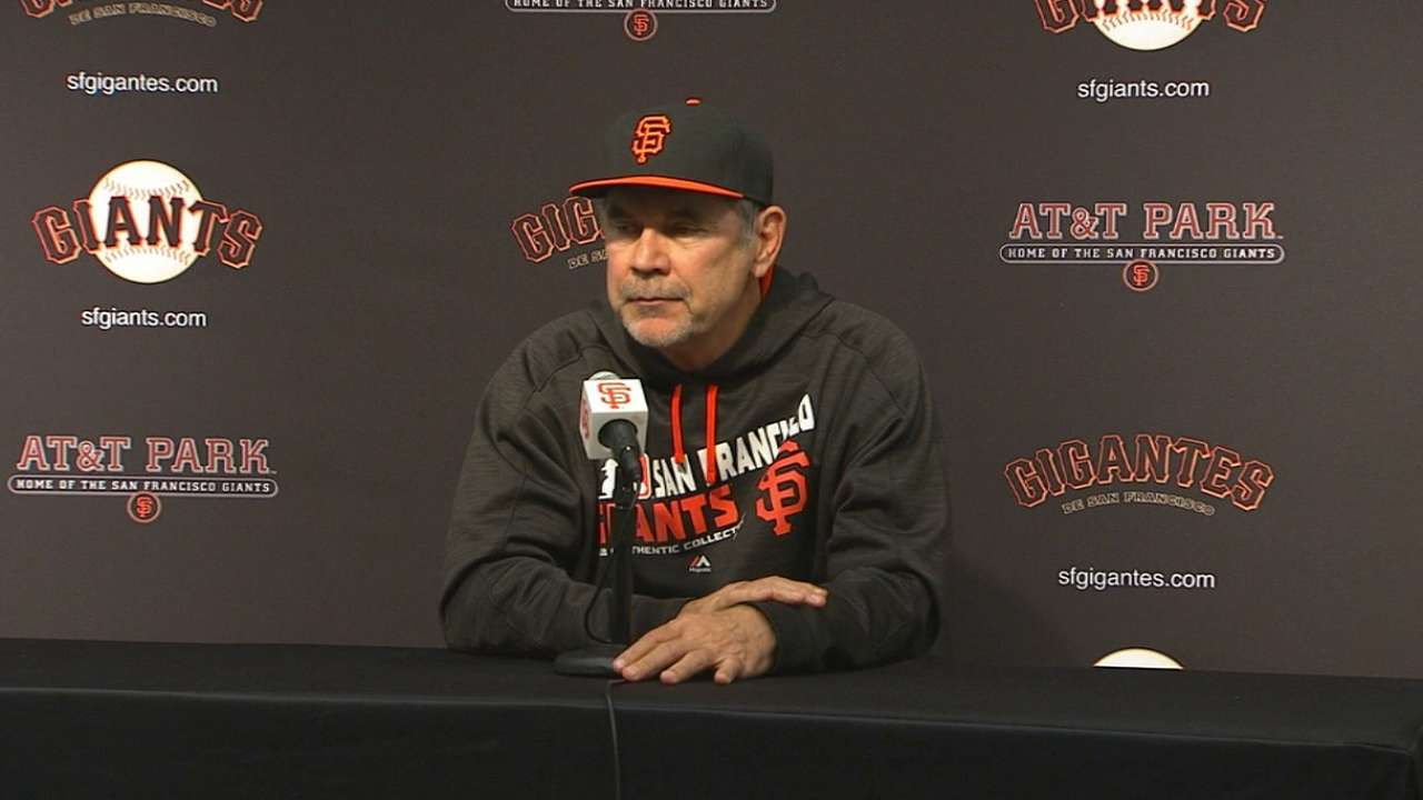 Bochy on 5-3 win over Cubs