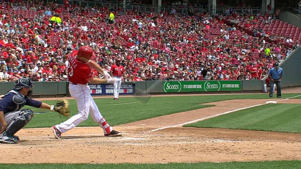 Duvall's long home run