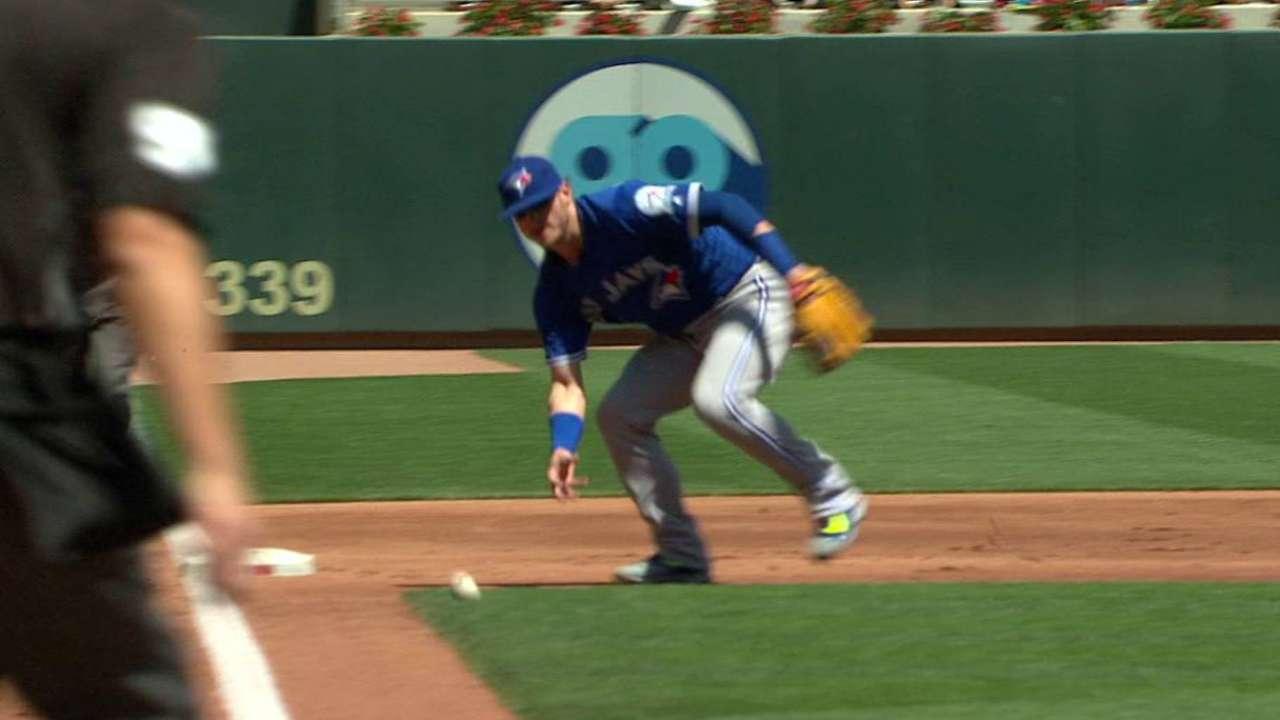 Donaldson's barehanded play