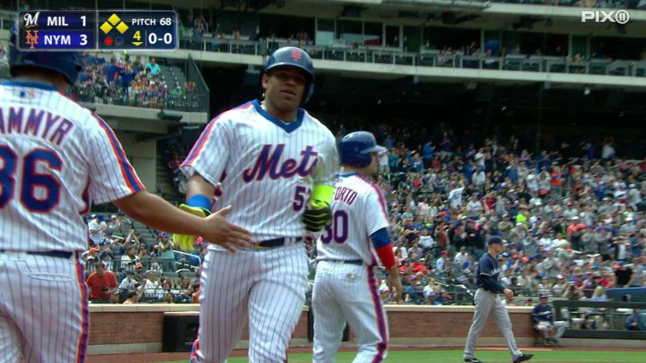 Mets 3, Brewers 1: Noah Syndergaard Baffles Brewers as the Mets…