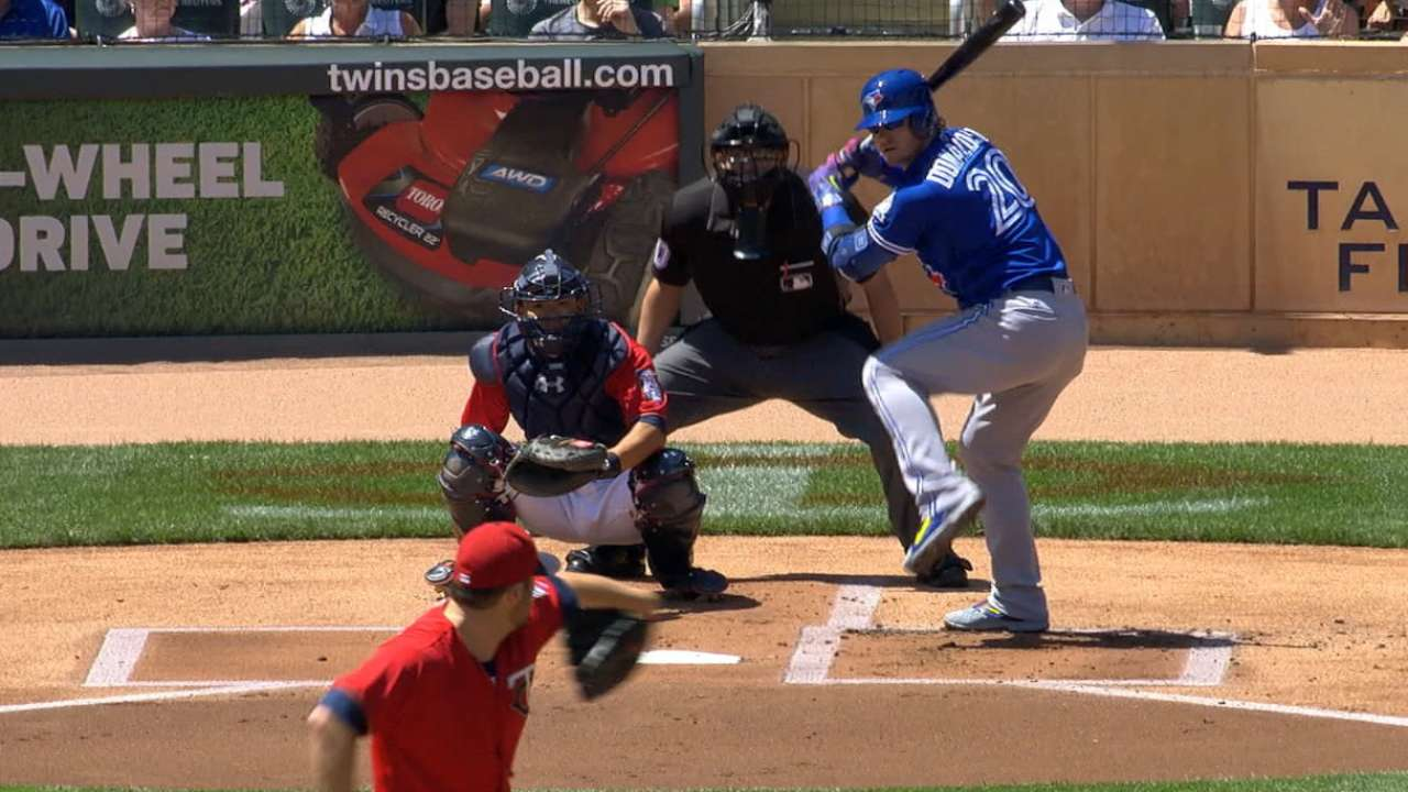 Stroman stifles Twins after Jays' leadoff homers