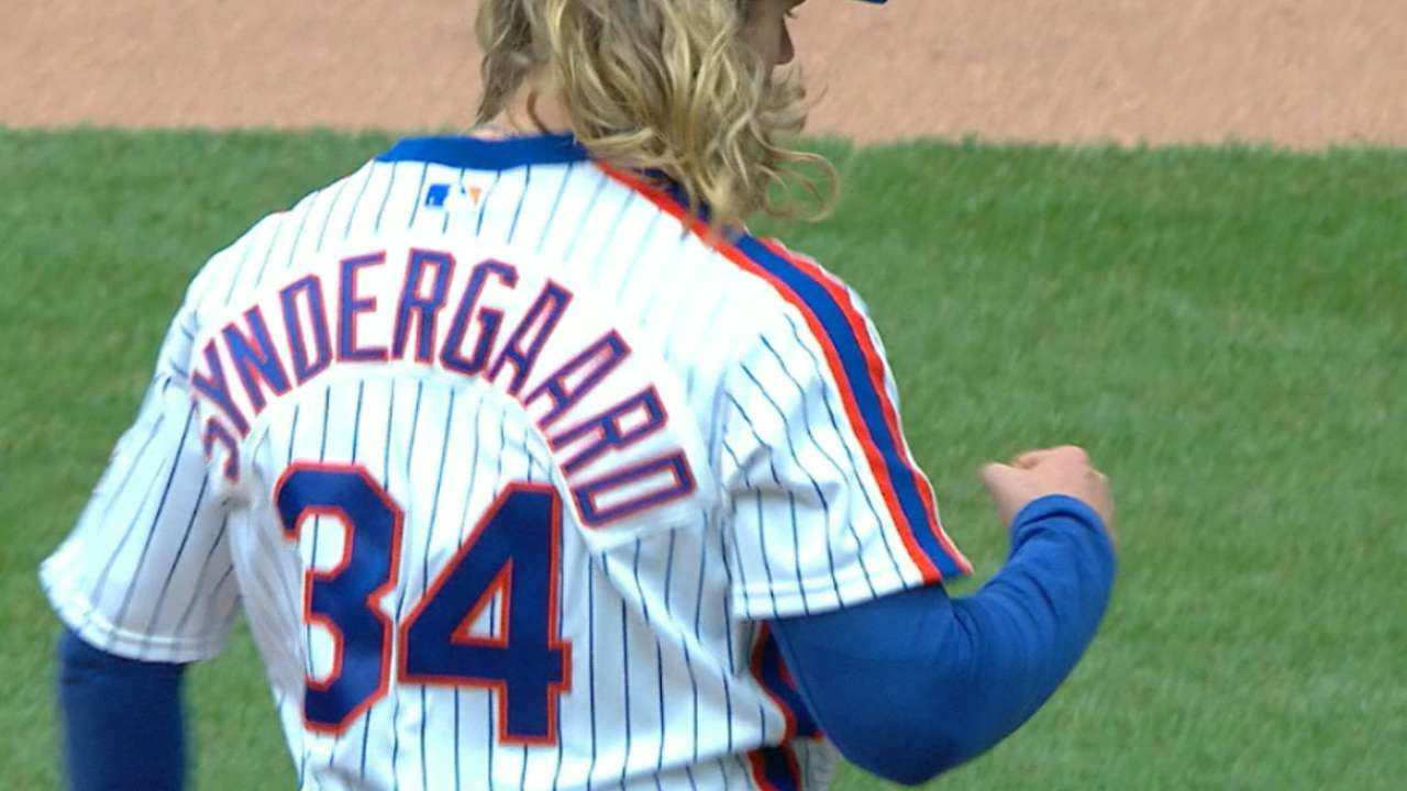 Syndergaard 'on his way' to being elite pitcher