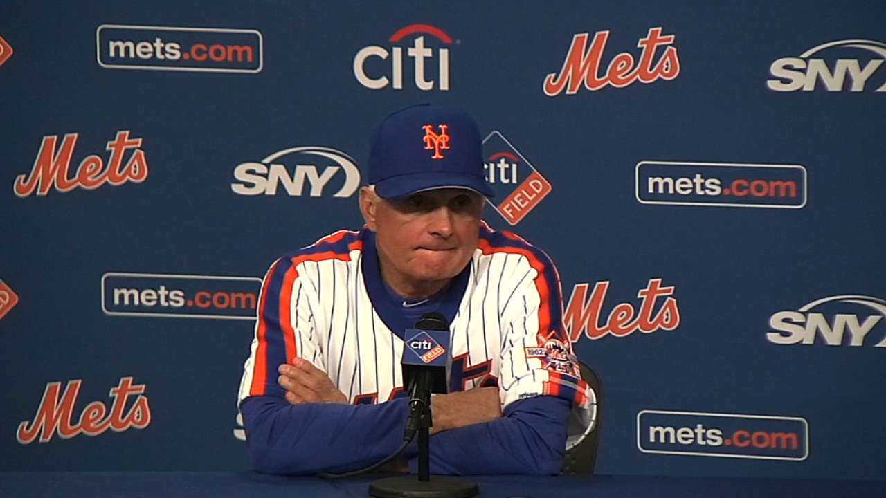 Collins on Syndergaard in win