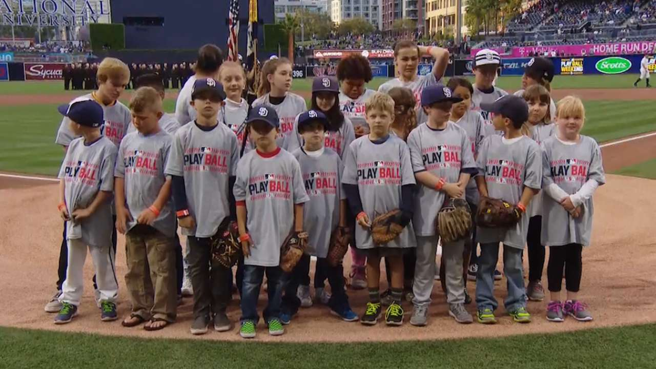 Play Ball celebrated with Little League parade
