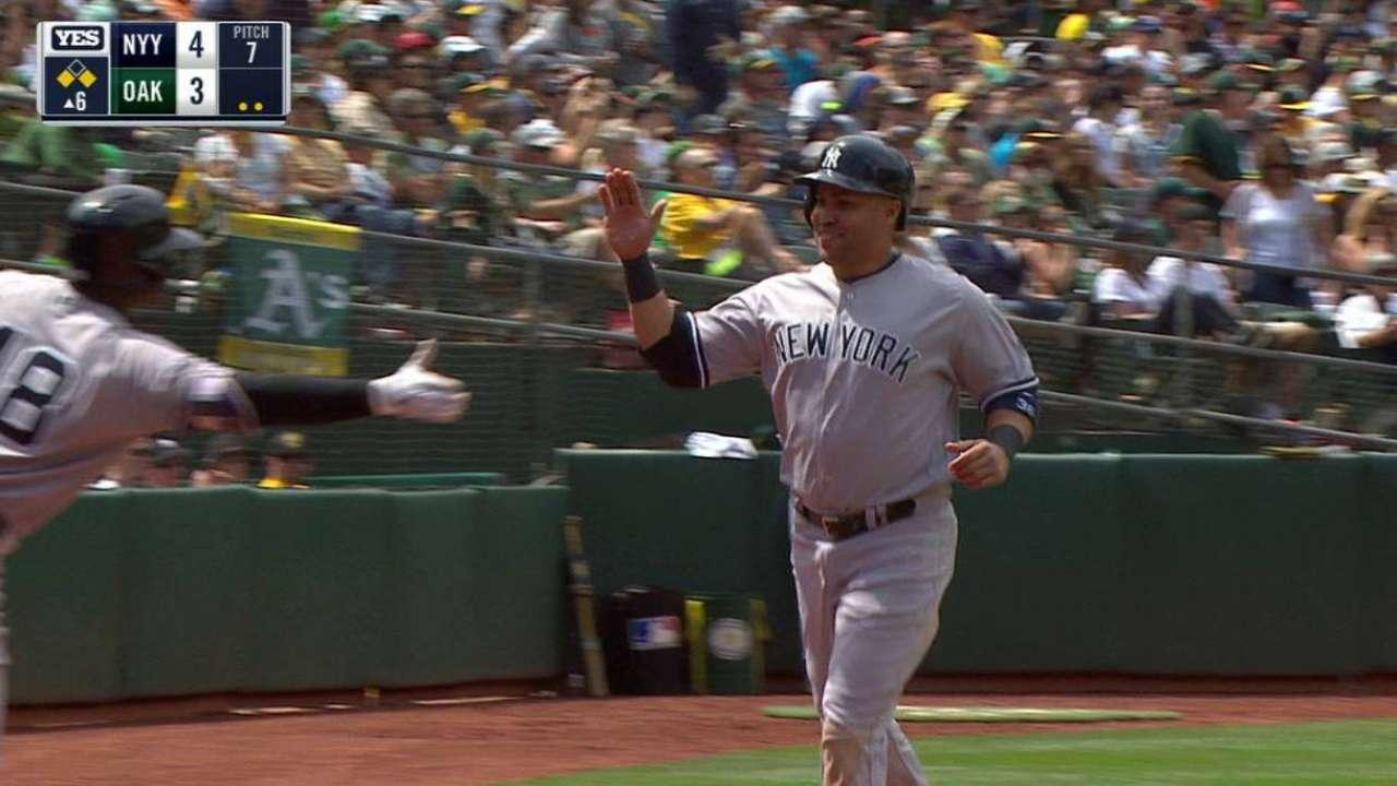 Starlin Castro ha conquistado La Gran Manzana con los Yankees