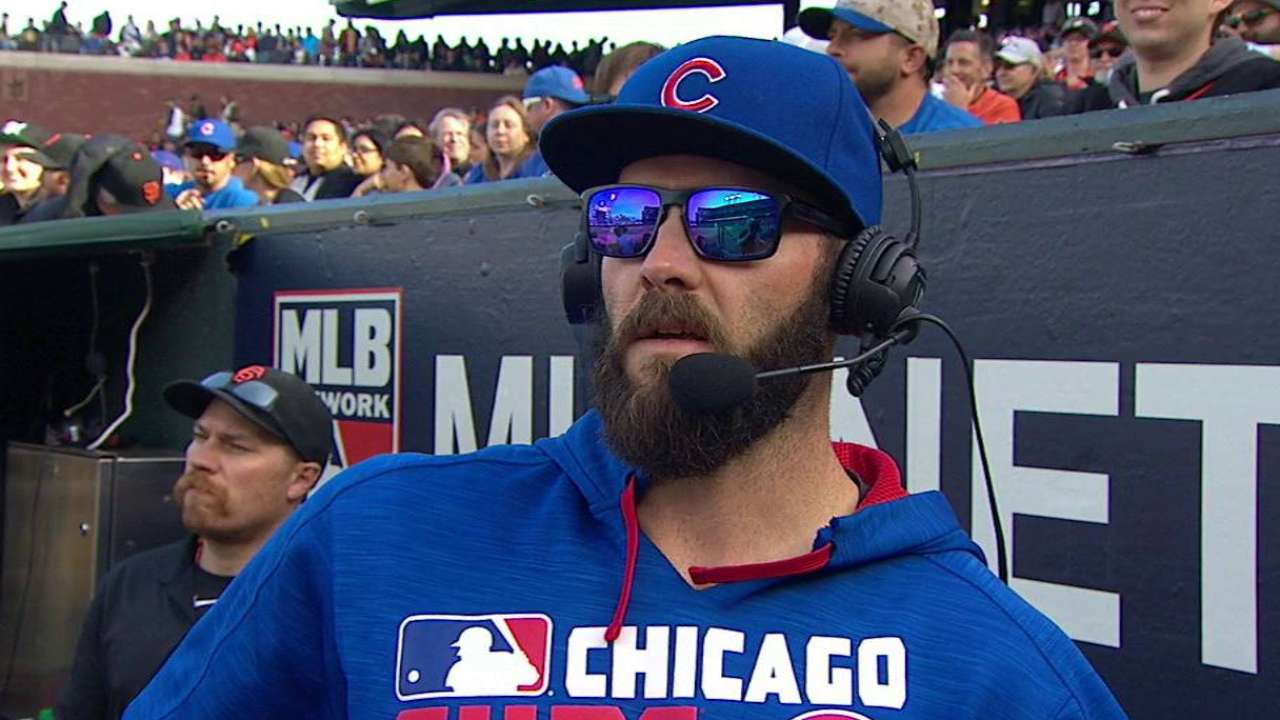 Arrieta joins the broadcast
