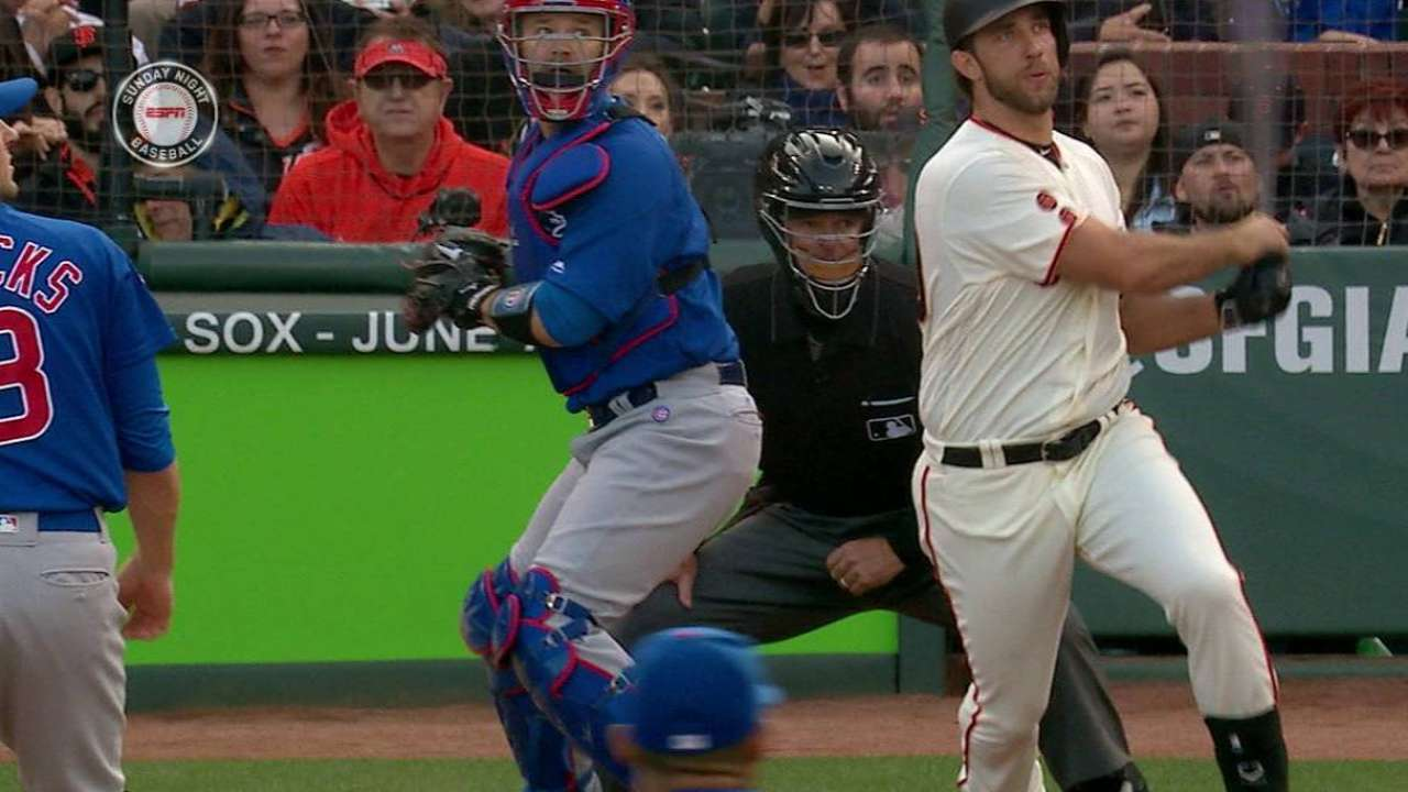 Bumgarner Throws Gem, Gets RBI in Giants' 1-0 Win Over Cubs
