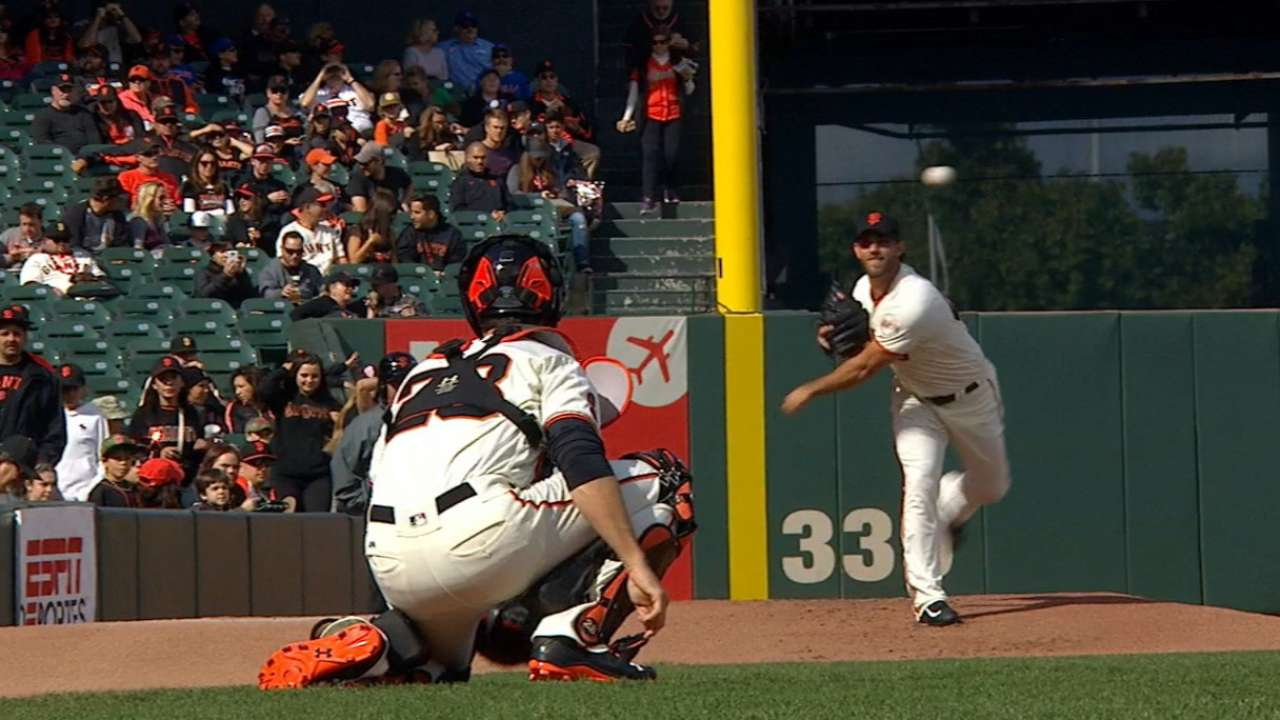Elite Bumgarner sets tone for Giants rotation