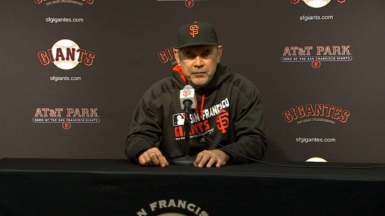 Bochy on 1-0 win