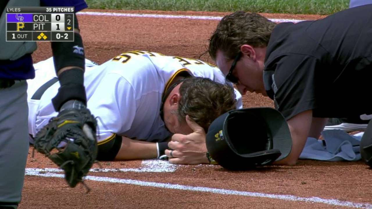 Vogelsong in hospital with eye injury after HBP