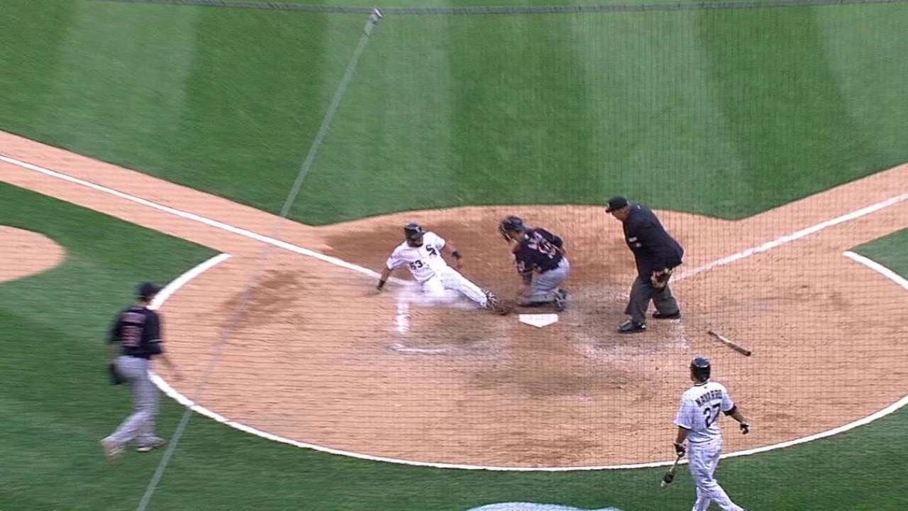 Martinez turns a double play