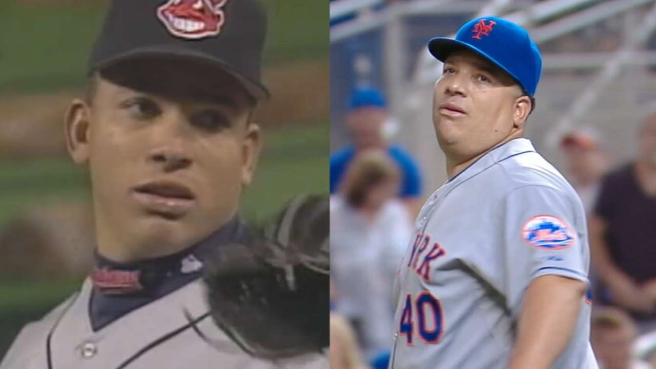 Bartolo's busy big league career