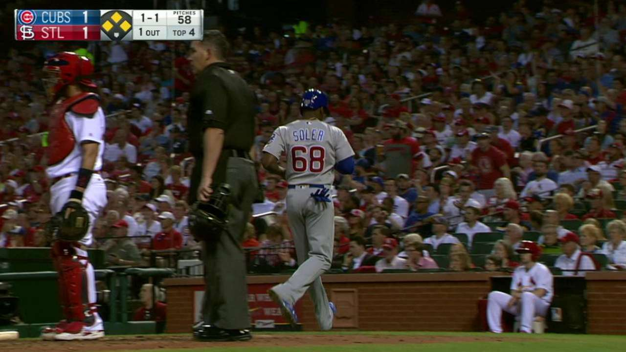 Lackey loses lead, Cubs lose Central ground