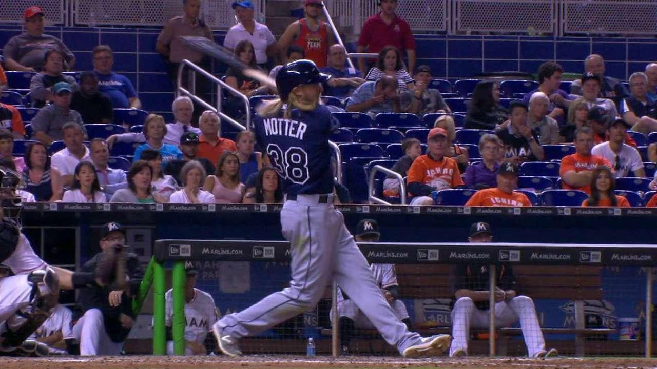 Motter's go-ahead RBI double