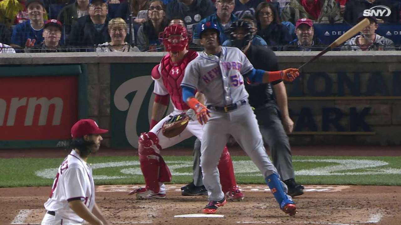 Cespedes' 15th homer of 2016