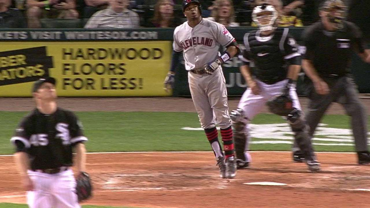 Tribe's bats back Anderson's Game 2 gem