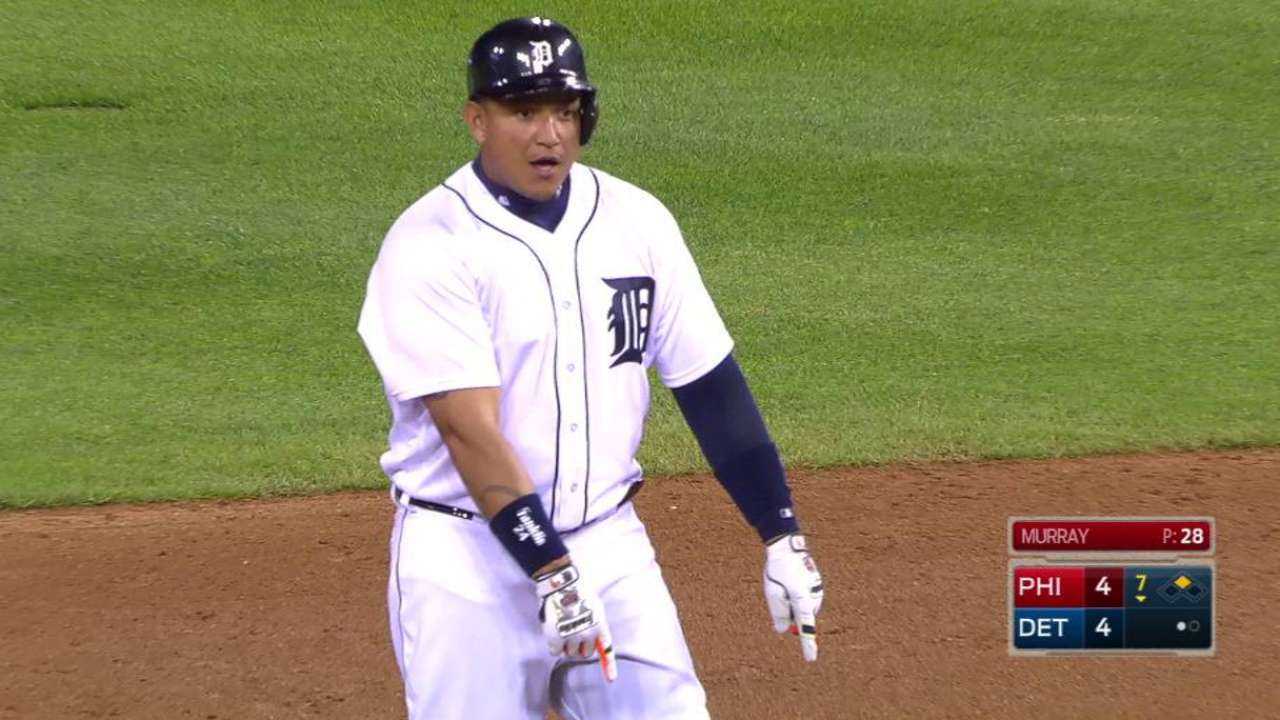 Cabrera's 500th career double