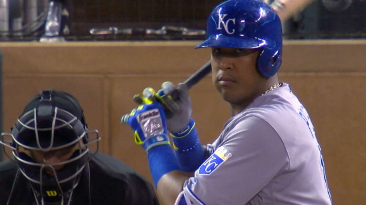 Salvy tops AL in votes; Hosmer, Cain lead races