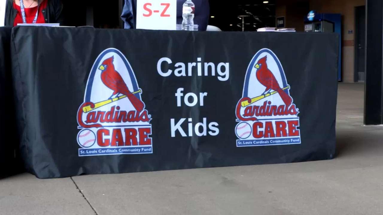 Cardinals Care Grant Ceremony