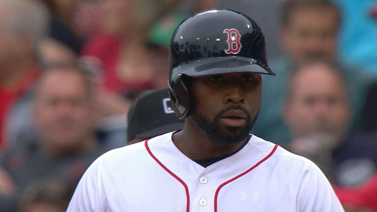 Bradley Jr.'s red-hot hit streak