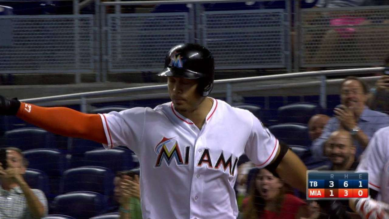 Stanton's HR is latest sign he's finding groove