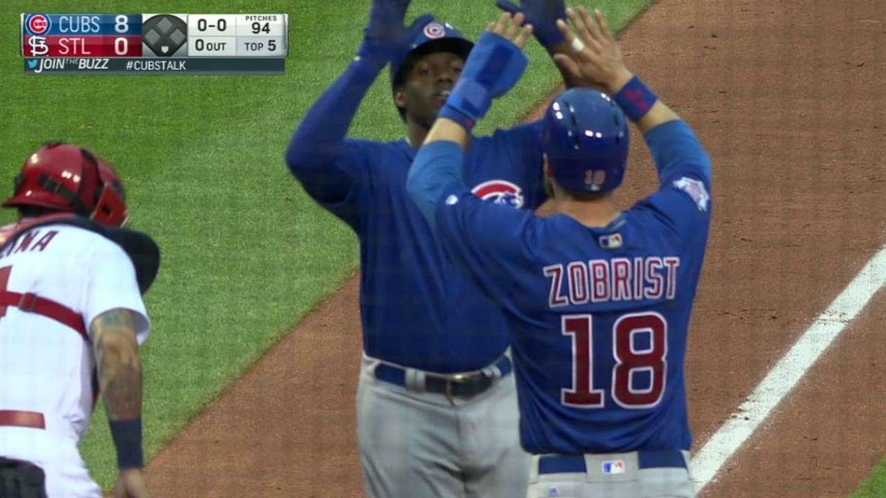 Soler's two-run homer