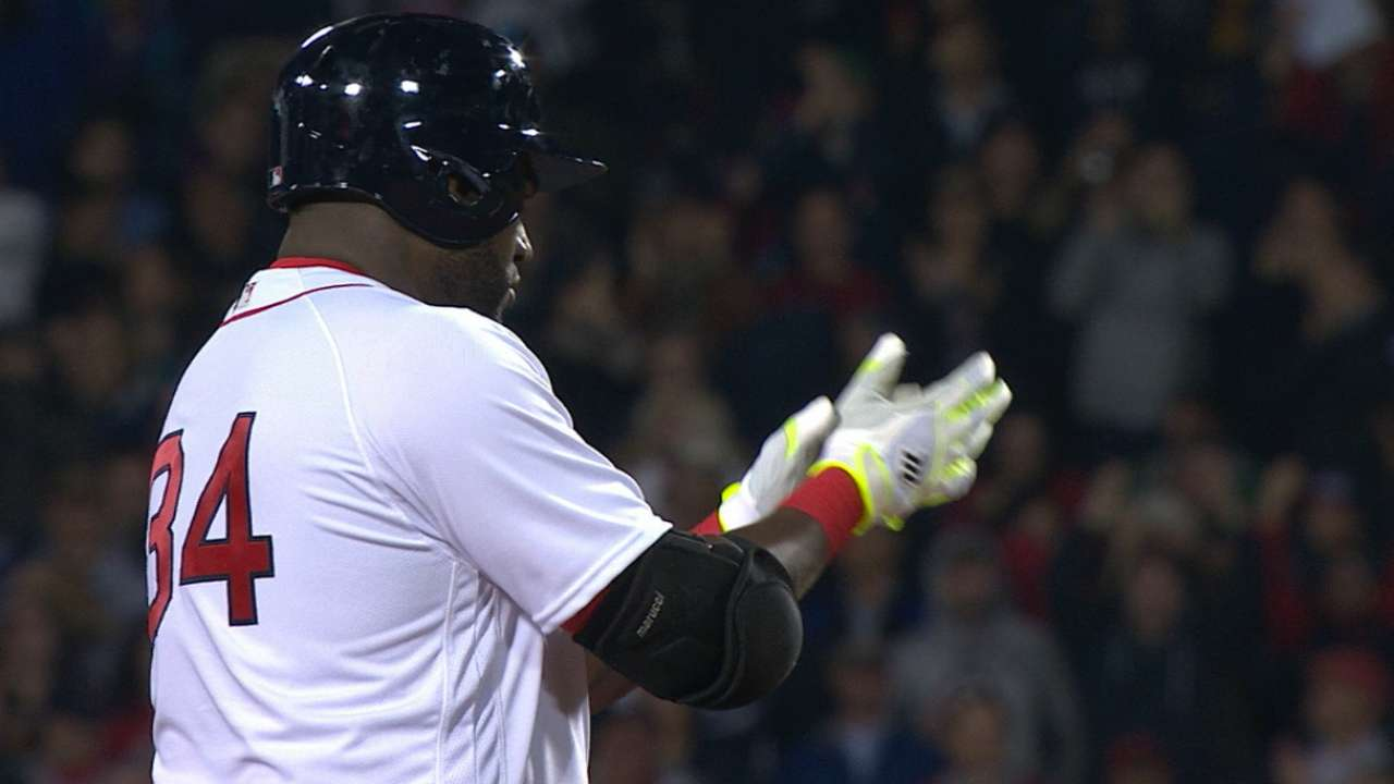 David Ortiz empuja cuatro carreras y Boston se impone a Rockies
