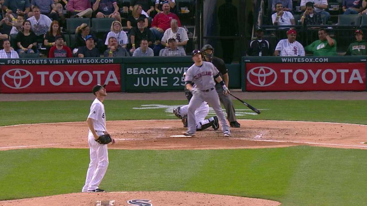 Gimenez's solo home run