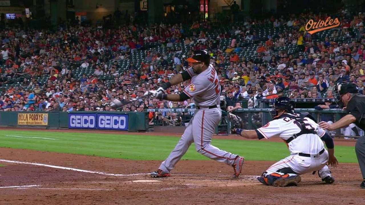 P. Alvarez's solo home run