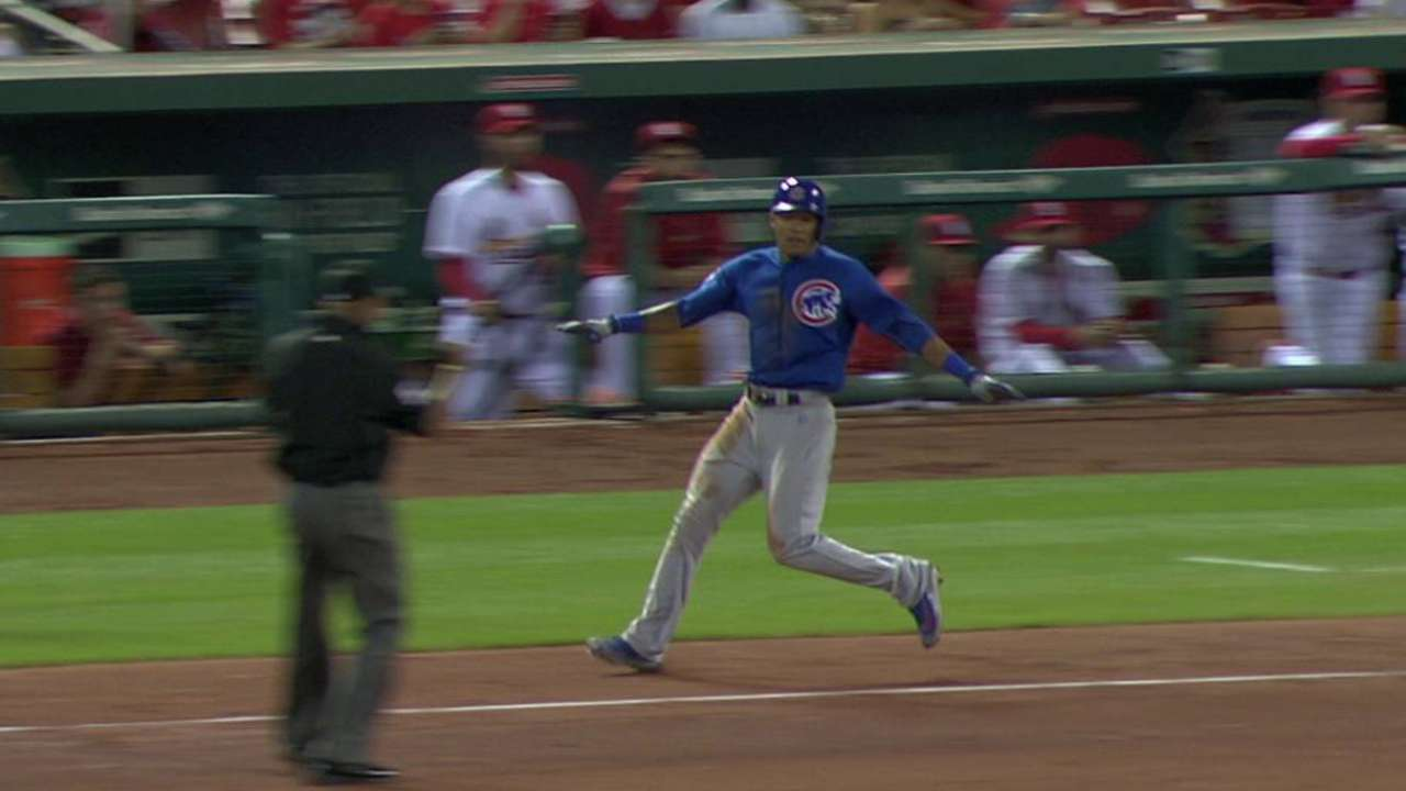 Russell earns a single